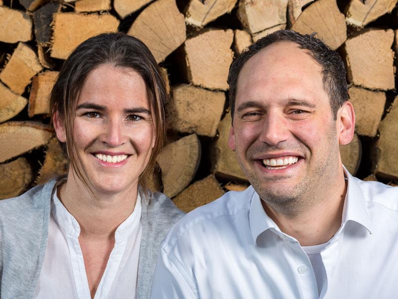 Lars Fahlenbock und seiner Frau Katharina Fahlenbock